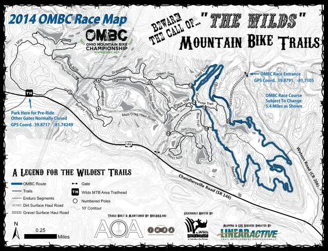 OMBC Wilds Map